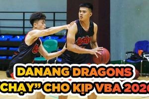 Buổi tập vắt kiệt sức của Danang Dragons để chuẩn bị cho VBA 2020