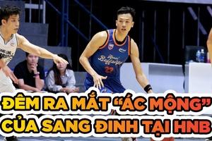 """Đêm ra mắt """"ác mộng"""" của Sang Đinh tại Hanoi Buffaloes"""