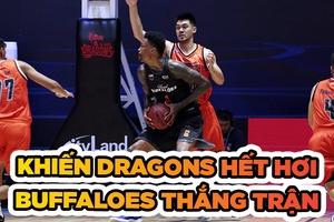 Khiến Danang Dragons hết hơi, Hanoi Buffaloes thắng trận hiệp phụ