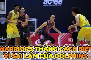 Nha Trang Dolphins thua cách biệt Thang Long Warriors vì turnover