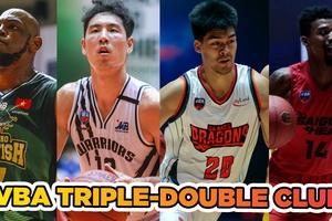 Những triple-double được lập trong lịch sử VBA