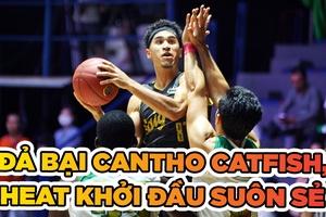 Đả bại Cantho Catfish, Saigon Heat khởi đầu thành công tại Playoffs