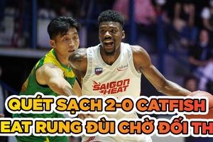 Quét sạch Cantho Catfish, Saigon Heat chờ đối thủ ở Chung kết