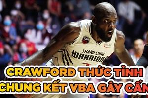 Thang Long Warriors cân bằng tỉ số nhờ Crawford thức tỉnh