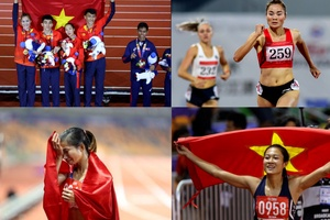 Điền kinh Việt Nam và những niềm hy vọng vàng tại SEA Games 31