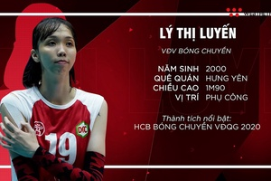 [Chân dung VĐV] Lý Thị Luyến: Khủng long mới của bóng chuyền Việt Nam