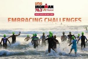 IRONMAN 70.3 Viet Nam 2021 tìm kiếm các VĐV tài năng tham dự SEA Games 31