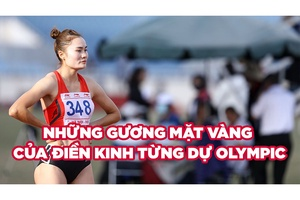Quách Thị Lan và những gương mặt vàng của điền kinh từng dự Olympic