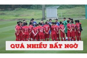 Thầy Park chốt danh sách ĐT Việt Nam 2021 dự VL World Cup 2022 với nhiều bất ngờ