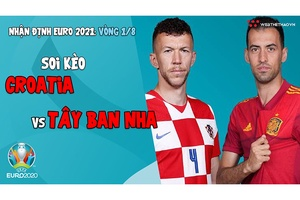 Nhận định EURO 2021  Vòng 1/8: Soi kèo Croatia vs Tây Ban Nha   Bóng đá