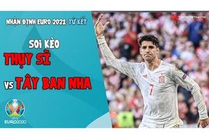 Nhận định EURO 2021   Vòng tứ kết: Soi kèo Thụy Sĩ vs Tây Ban Nha