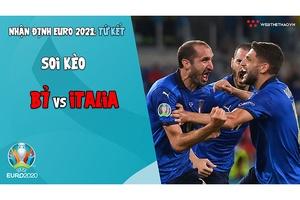 Nhận định EURO 2021   Vòng tứ kết: Soi kèo Bỉ vs Italia