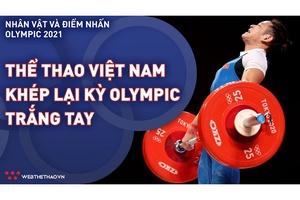 Thể thao Việt Nam khép lại kỳ Olympic trắng tay