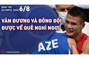 Nhịp đập Olympic 2021   06/08: Nguyễn Văn Đương cùng tuyển Boxing được về quê nghỉ ngơi