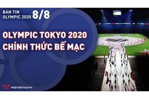 Nhịp đập Olympic 2021   08/08: Olympic Tokyo 2020 chính thức bế mạc