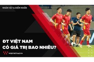 ĐT Việt Nam có giá trị bao nhiêu trước đối thủ sở hữu đội hình 1000 tỷ VNĐ