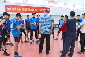 Bóng chuyền nam Việt Nam đặt mục tiêu cực sốc tại SEA Games 31