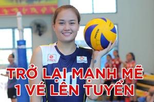 Nguyễn Linh Chi hồi sinh sau chấn thương, hướng tới suất trở lại tuyển Việt Nam