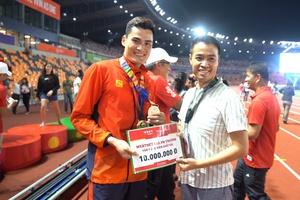 Webthethao tặng thưởng các nhà vô địch SEA Games 30 đặc biệt