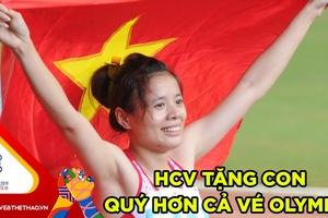 """SEA Games 30 - Nguyễn Thị Huyền: """"Tấm huy chương vàng tặng cho con, quý hơn cả vé dự Olympic"""""""