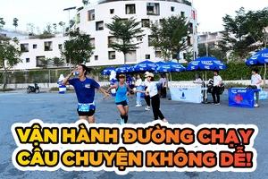 Vận hành đường đua chạy bộ phong trào - Câu chuyện không hề dễ