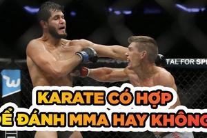 Karate thể thao cần phải thay đổi khi thượng đài MMA